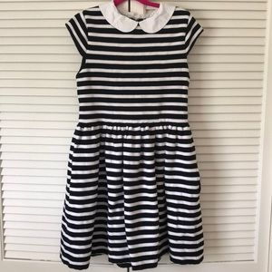 Kate Spade-Girl's Striped Dress-Size 12